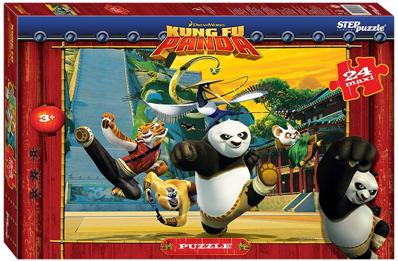 Step Puzzle Пазл для малышей Кунг-фу Панда 90027 кристальный пазл 3d crystal puzzle панда