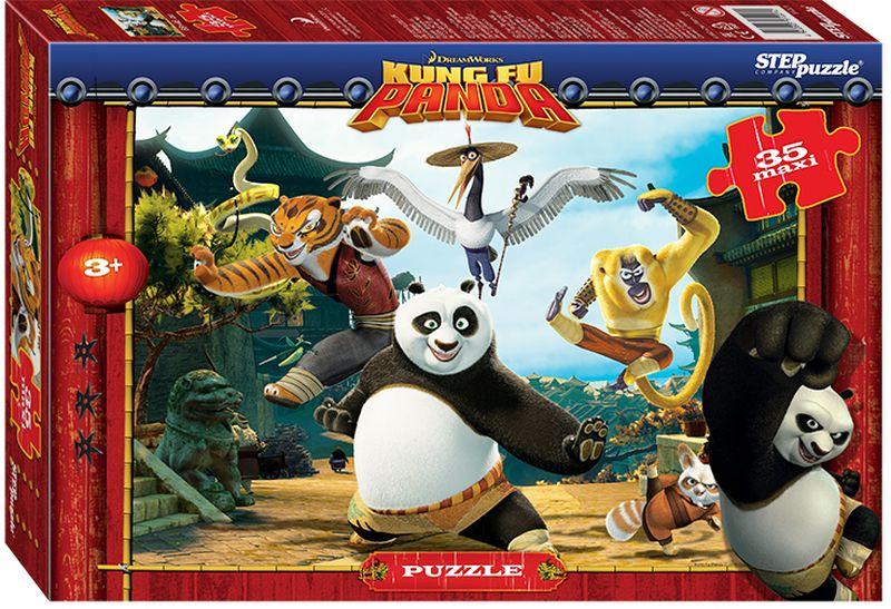 Step Puzzle Пазл для малышей Кунг-фу Панда 91221 кристальный пазл 3d crystal puzzle панда