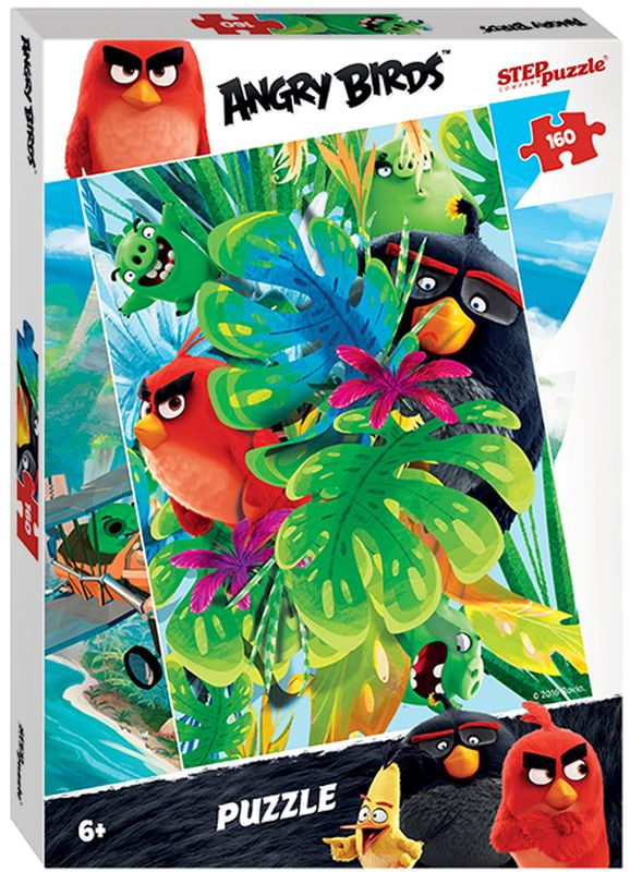 Step Puzzle Пазл для малышей Angry Birds 94055 -