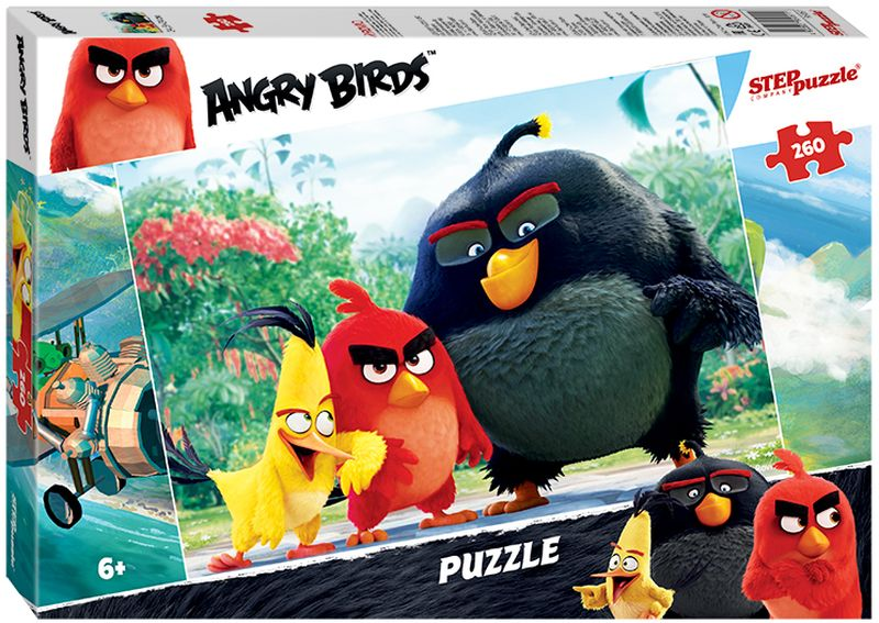 Step Puzzle Пазл Angry Birds 95051 260 элементов