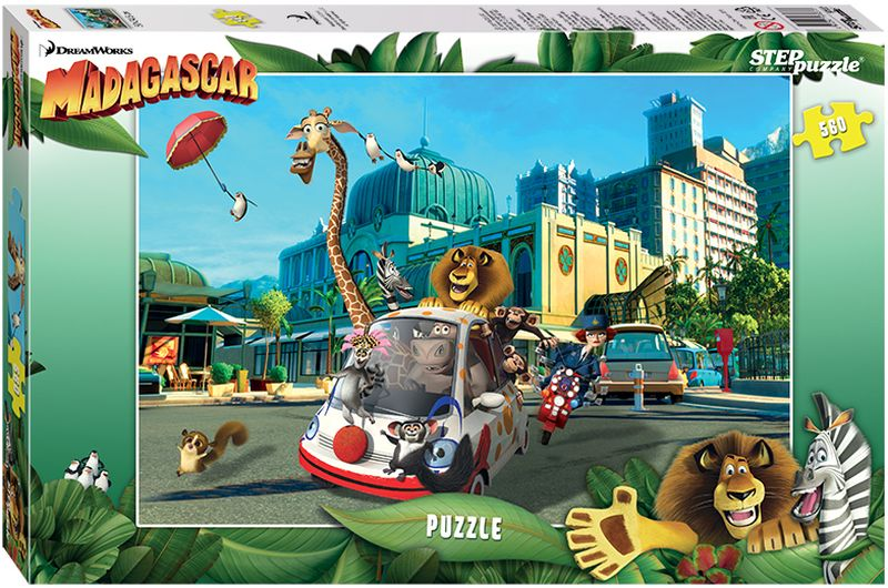Step Puzzle Пазл Madagascar