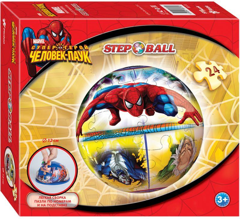 Step Puzzle Пазл для малышей Человек-паук пазл step puzzle развивающие паззлы союзмультфильм путешествие в мир добра в асс 76064