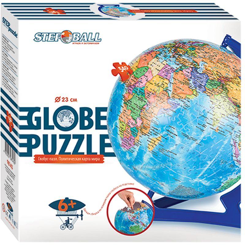 Step Puzzle Пазл для малышей Глобус Политическая карта мира -