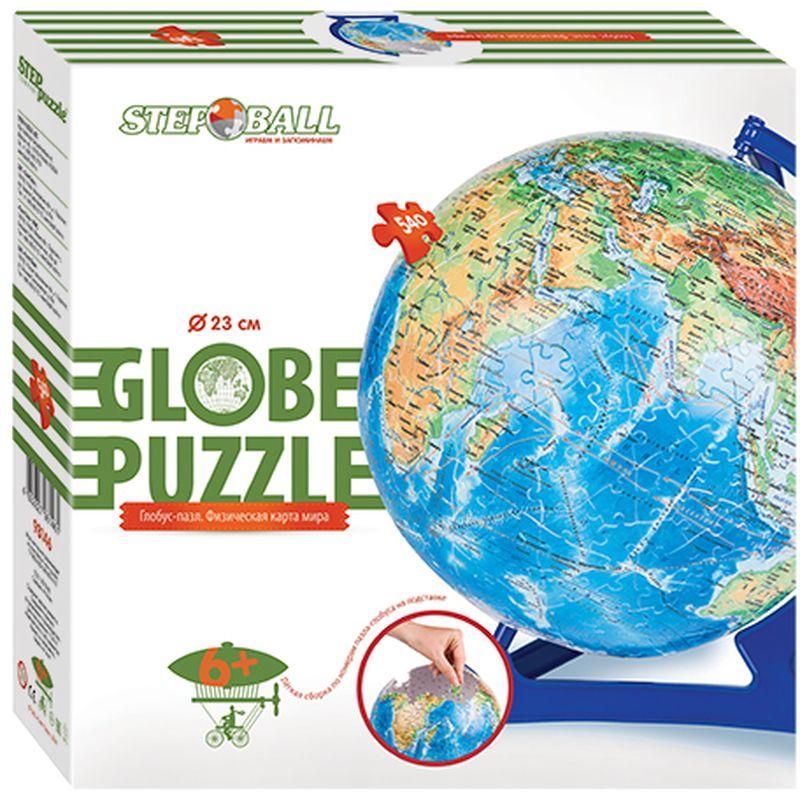 Step Puzzle Пазл для малышей Глобус Физическая карта мира -