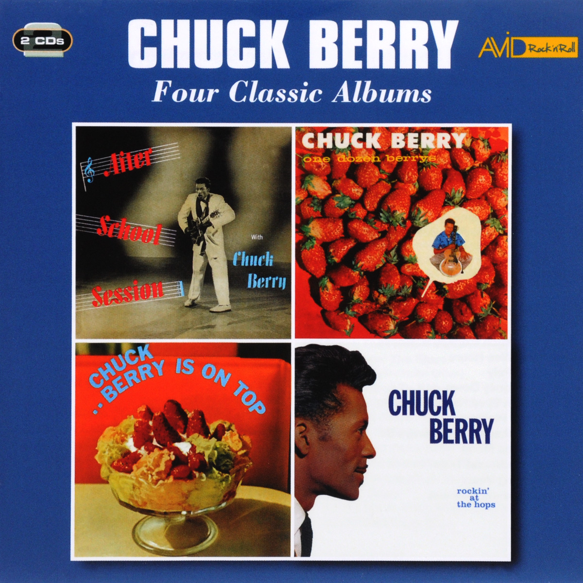 Чак Берри Chuck Berry. Four Classic Albums (2 CD) каунт бэйси count basie four classic albums plus 2 cd