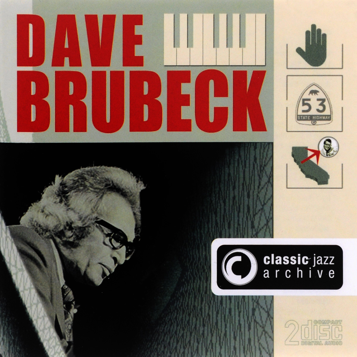 Дэйв Брубек Dave Brubeck. Classic Jazz Archive (2 CD) late night jazz 2 cd