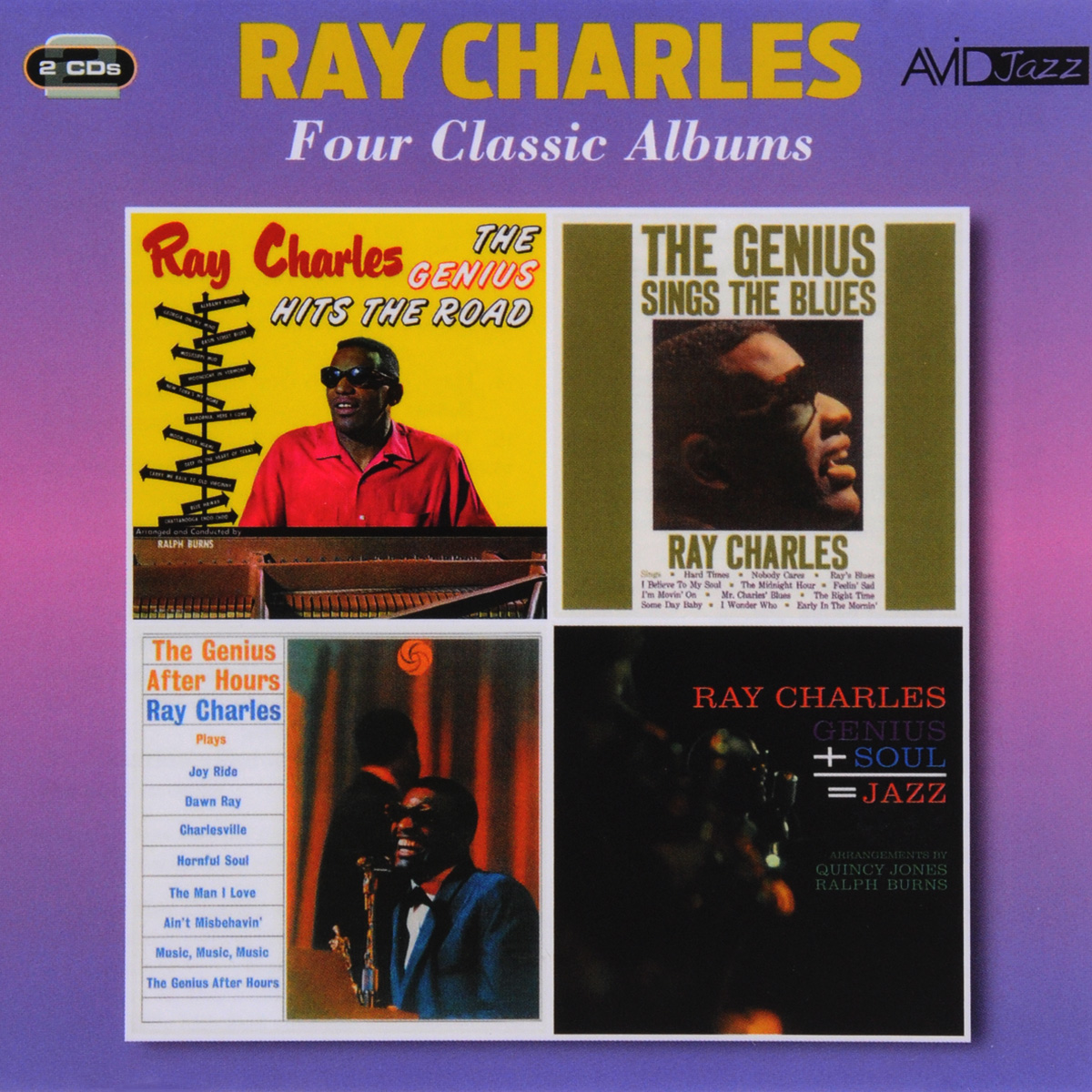 Рэй Чарльз Ray Charles. Four Classic Albums (2 CD) рэй чарльз ray charles original album series 5 cd