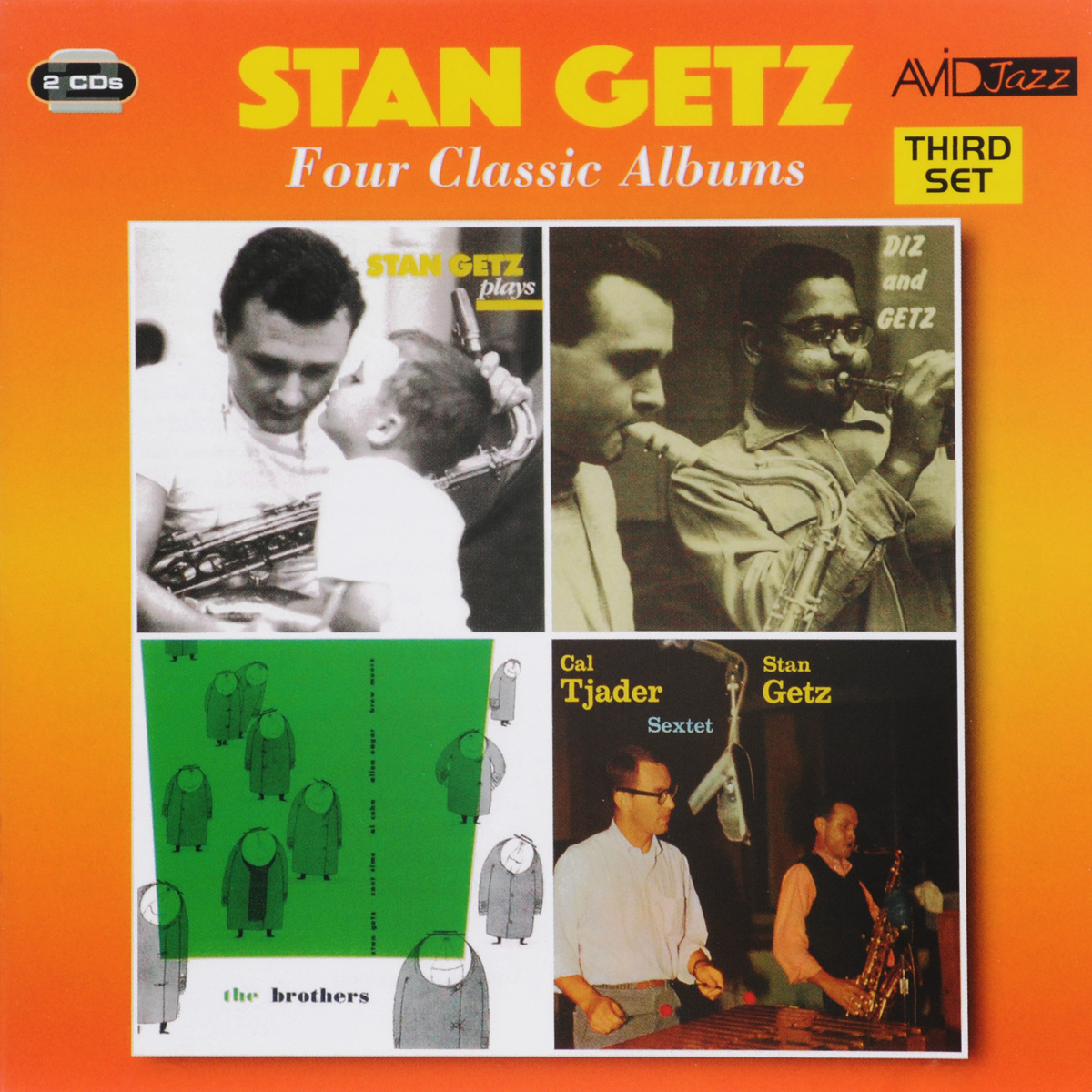 Стэн Гетц Stan Getz. Four Classic Albums (2 CD) цена
