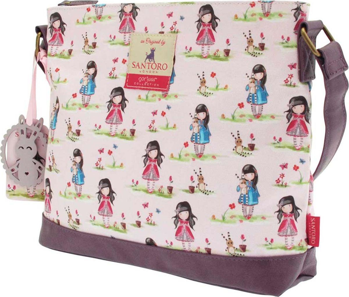 Santoro Сумка детская на плечо Pastel Print Ladybird0012574Красивая детская сумка Santoro Pastel Print Ladybird с регулируем ремешком - идеальна для покупок или путешествия, работы или учебы.Обязательный модный аксессуар для каждой девочки!Сумка Pastel Print Ladybird выполнена вручную.Материал: внешний: 100% хлопок, подкладка: 100% полиэстер, отделка: 100% полиуретан.