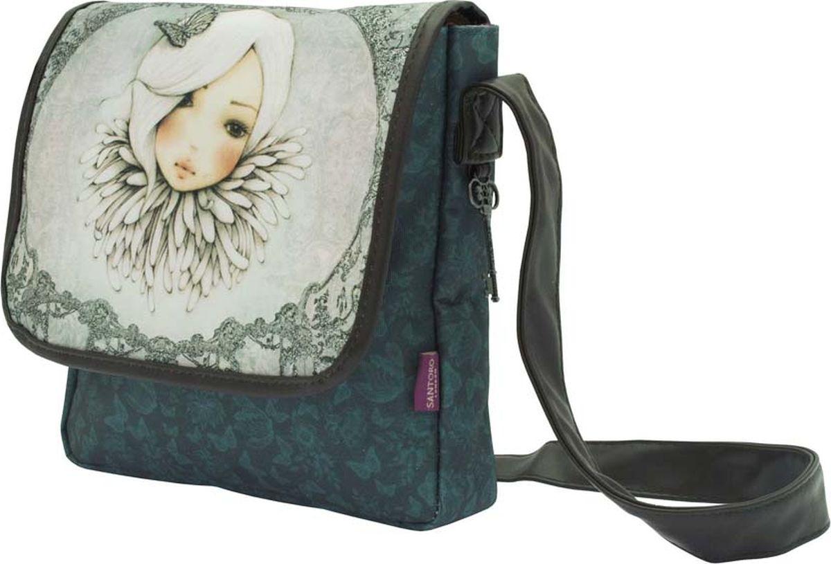 Santoro Сумка детская Augustine0013239Детская сумка Santoro Augustine - прекрасная сумка для изысканных девушек!В основном отсеке имеется держатель для телефона и карман на молнии для хранения принадлежностей. Ремень для переноски легко регулируется с помощью пряжки.Сумка Santoro Augustine выполнена вручную.Материал: наружный: 100% полиэстер, ручки 100% полиуретан, подкладка 100% полиэстер.