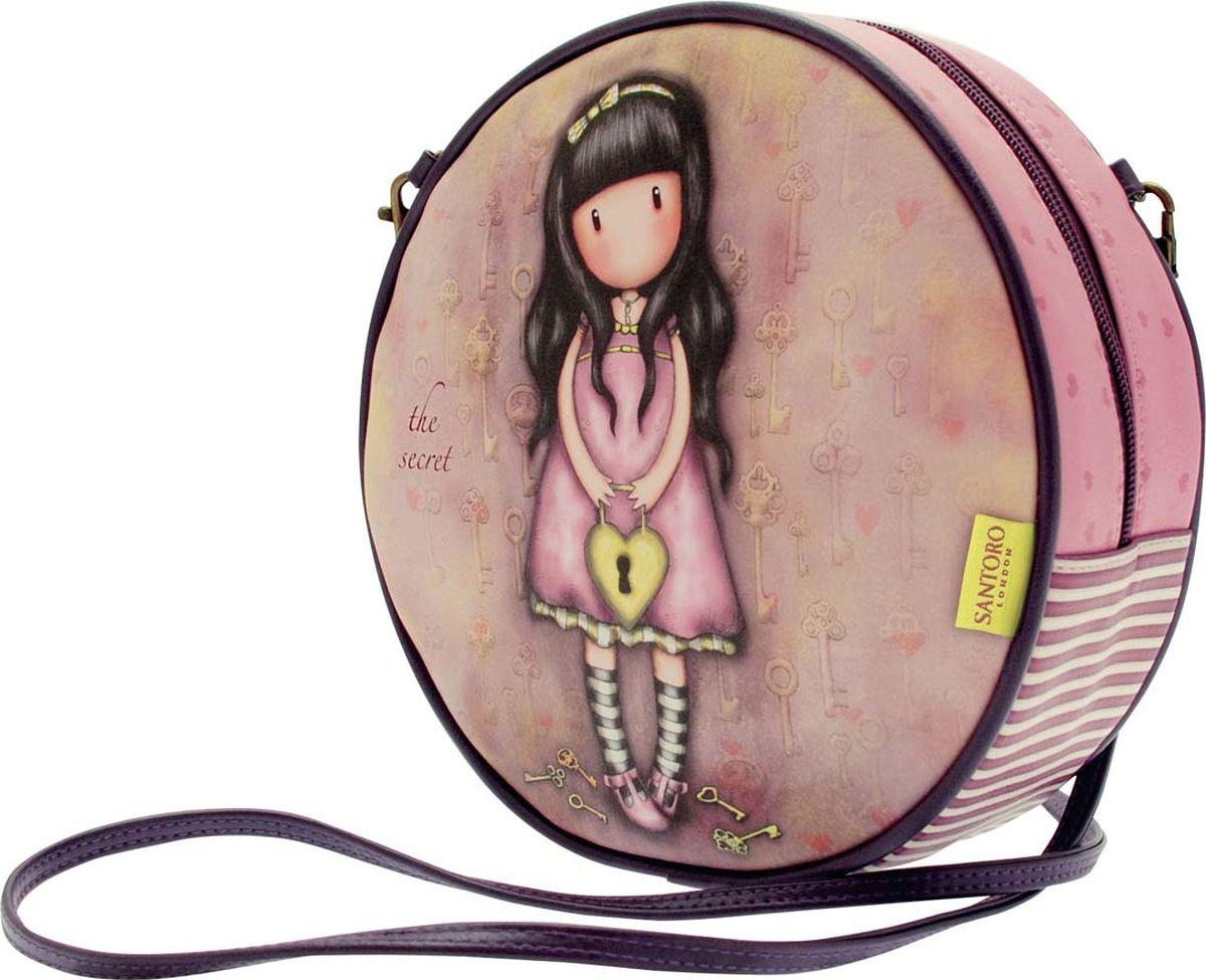 Santoro Сумка детская The Secret 00133760013376Сумочка Gorjuss со съемным ремешком является шикарным дополнением к любому гардеробу!Шикарная и уникальная, она обязательно подчеркнет ваш стиль!Сумка выполнена вручную.