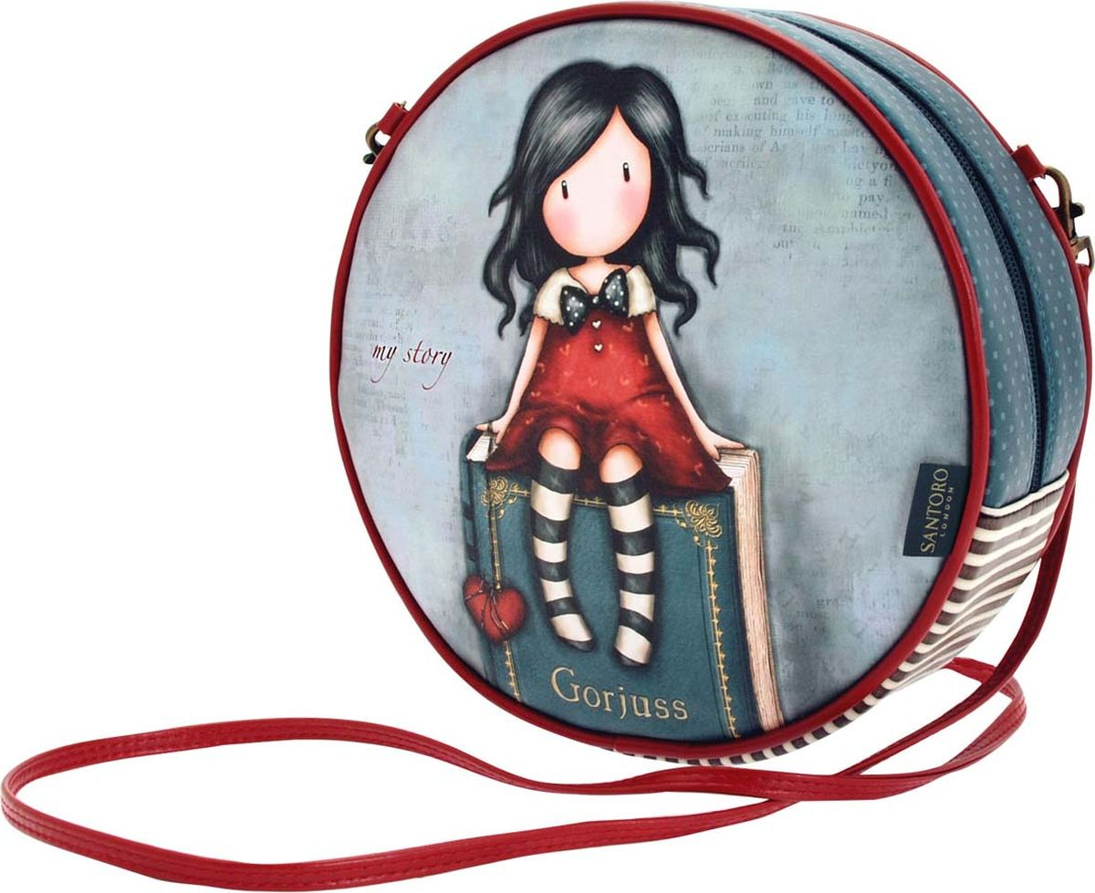 Santoro Сумка детская My Story 00133770013377Детская сумка Santoro My Story со съемным ремешком является шикарным дополнением к любому гардеробу! Шикарная и уникальная, она обязательно подчеркнет ваш стиль!Детская сумка Santoro My Story выполнена вручную.Материал:наружный: 100% полиуретан, подкладка: 100% полиэстер.