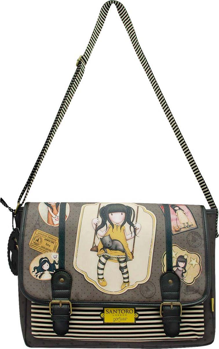Santoro Сумка школьная Ruby Yellow santoro сумка детская sugar and spice 0013817