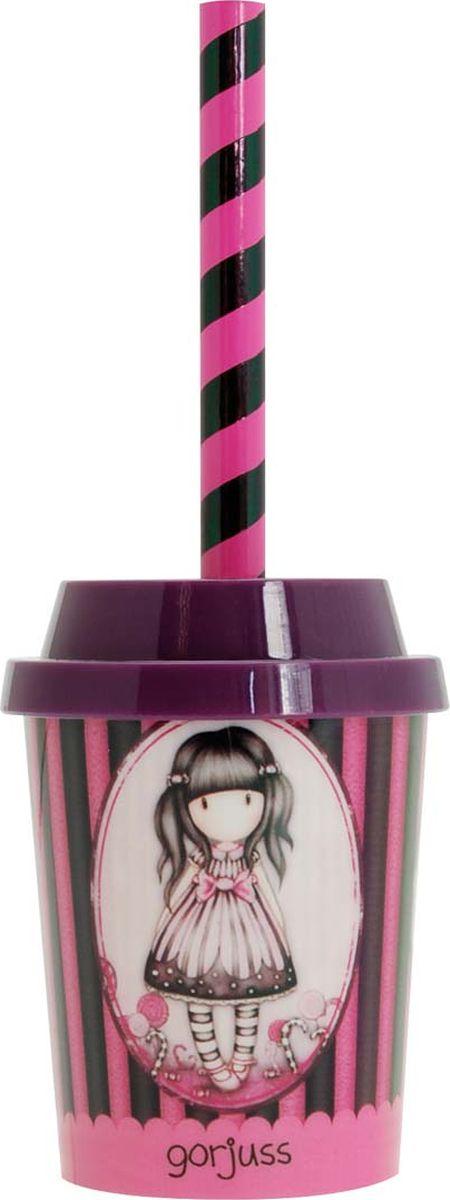 Santoro Набор канцелярский Sugar and Spice 2 предмета0013847Канцелярский набор Santoro Sugar and Spice включает в себя точилку, которую украшает очаровательная девочка Gorjuss, и полосатый карандаш.Весело и функционально, этот канцелярский аксессуар - просто восхищение!