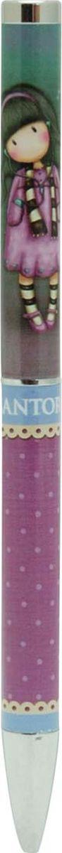 Santoro Ручка шариковая Gorjuss Slim Metal Pen Little Song синяя0099035Элегантная металлическая шариковая ручка Santoro Slim Metal Pen Little Song  с винтажным вдохновленным цветом разбавит вашу коллекцию канцелярских принадлежностей.Пишущий узел 1, 0 мм обеспечивает четкое и мягкое письмо. Поверните металлический верх, чтобы начать писать, и пусть наша ручка вдохновит ваше творчество!Аккуратно упакованная в красивую коробочку, она идеально подходит как подарок или просто для вас! Предназначена для записи ваших заметок, идей, мыслей и чувств!