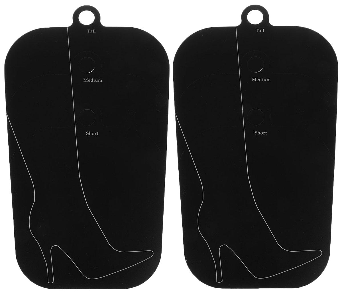 Поддерживающий вкладыш Handy Home, цвет: черный, 40,3 х 27 смESH07Поддерживающий вкладыш для обуви Handy Home используются для сохранения первоначальной формы голенища. Подходят для обуви с разной длинной голенища: короткий, средний, длинный. Актуальны при хранении сапог в вертикальном состоянии, это помогает избежать появления заломов. Наличие круглой подвесной ручки позволяет при необходимости хранить сапоги в подвешенном состоянии. В комплекте 2 формодержателя.Длина держателя: 44 см