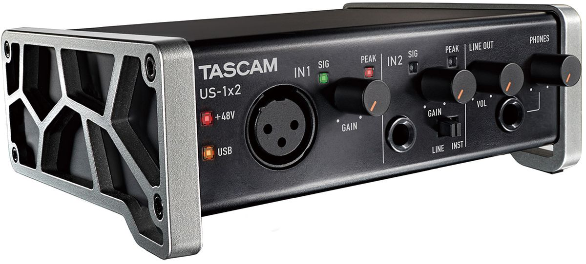 Tascam US-1x2, Black аудиоинтерфейс