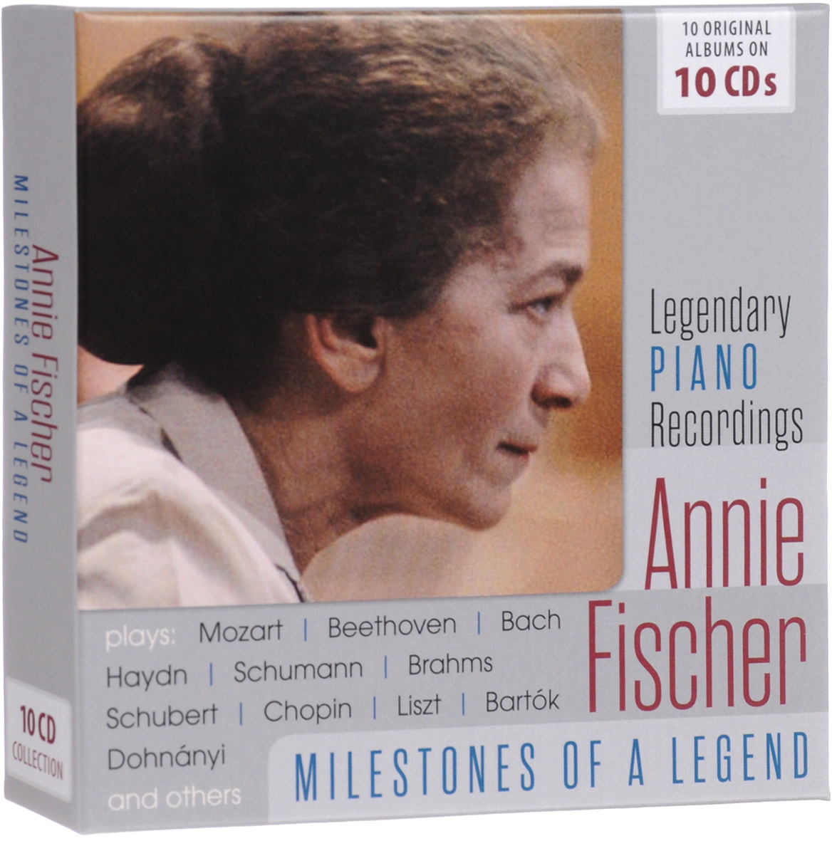 Annie Fischer. Milestones Of A Piano Legend (10 CD)