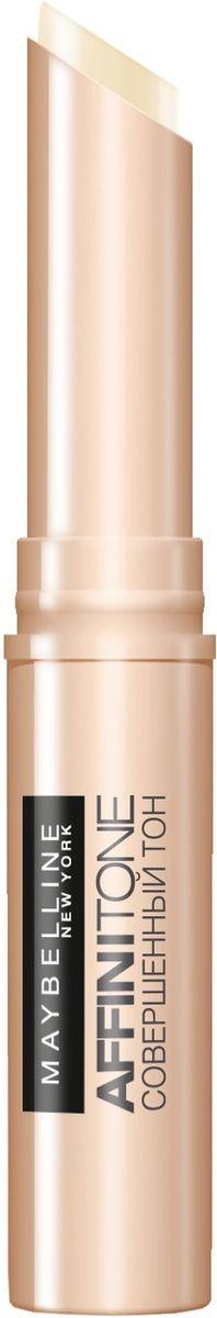 Maybelline New York Консилер от несовершенств Affinitone, оттенок 01,слоновая кость, 2,3гB2717900Совершенный корректор. Благодаря плоной кремовой текстуре прекрасно скрывает недостатки, сливается с тоном кожи. Компактный стик легок в использовании. Данный оттенок подходит светлой коже с холодным подтоном.