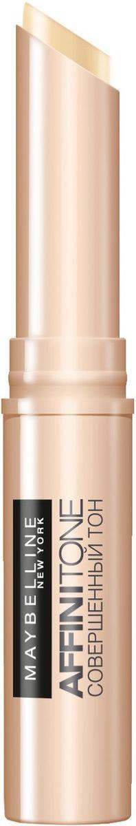 Maybelline New York Консилер от несовершенств Affinitone, оттенок 02, ванильный, 2,3гB2718000Совершенный корректор. Благодаря плоной кремовой текстуре прекрасно скрывает недостатки, сливается с тоном кожи. Компактный стик легок в использовании. Данный оттенок подходит светлой коже с нейтральным подтоном.