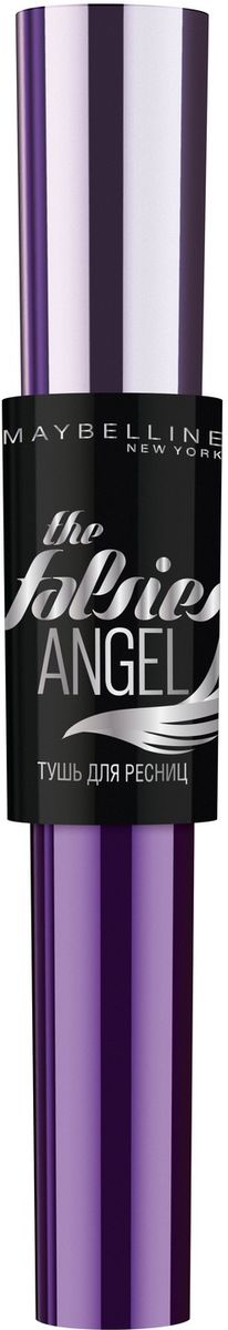 Maybelline New York Тушь для ресниц The Falsies Angel, черная, 9,5 мл тушь для бровей maybelline new york maybelline new york ma010lwfjs90