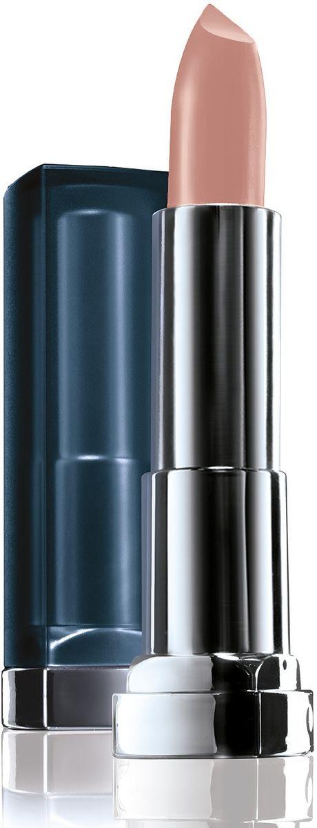 Maybelline New York Увлажняющая помада для губ Color Sensational Матовое Обнажение, Оттенок 982, Персиковый Мусс, 4,4 г806568Новая трендовая коллекция матовых оттенков помад Color Sensational! Содержат матовые пигменты, которые обеспечивают чистый глубокий цвет на губах с пудровым матовым финишем. Кремовая текстура помад, обогащенная увлажняющими ингредиентами, наносится гладким слоем и не пересушивает губы.Какая губная помада лучше. Статья OZON Гид