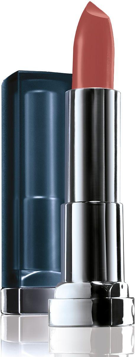 Maybelline New York Увлажняющая помада для губ Color Sensational Матовое Обнажение, Оттенок 988, Темный Каштан, 4,4 г29101332055Новая трендовая коллекция матовых оттенков помад Color Sensational! Содержат матовые пигменты, которые обеспечивают чистый глубокий цвет на губах с пудровым матовым финишем. Кремовая текстура помад, обогащенная увлажняющими ингредиентами, наносится гладким слоем и не пересушивает губы.Какая губная помада лучше. Статья OZON Гид