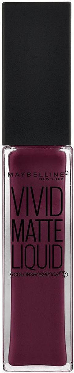 Maybelline New York Жидкая матовая губная помада Vivid Matte, тон №39, 8 мл помада kiss new york professional ulti matte lip crayon 13 цвет 13 hell s kitchen variant hex name ed657d