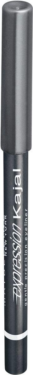 Maybelline New York Карандаш для глаз Expression Kajal, оттенок 40, серебристо-серый, 1,14 maybelline карандаш для глаз expression kajal 1 14 г 4 оттенка карандаш для глаз expression kajal 1 14г 1 14 г 38 коричневый