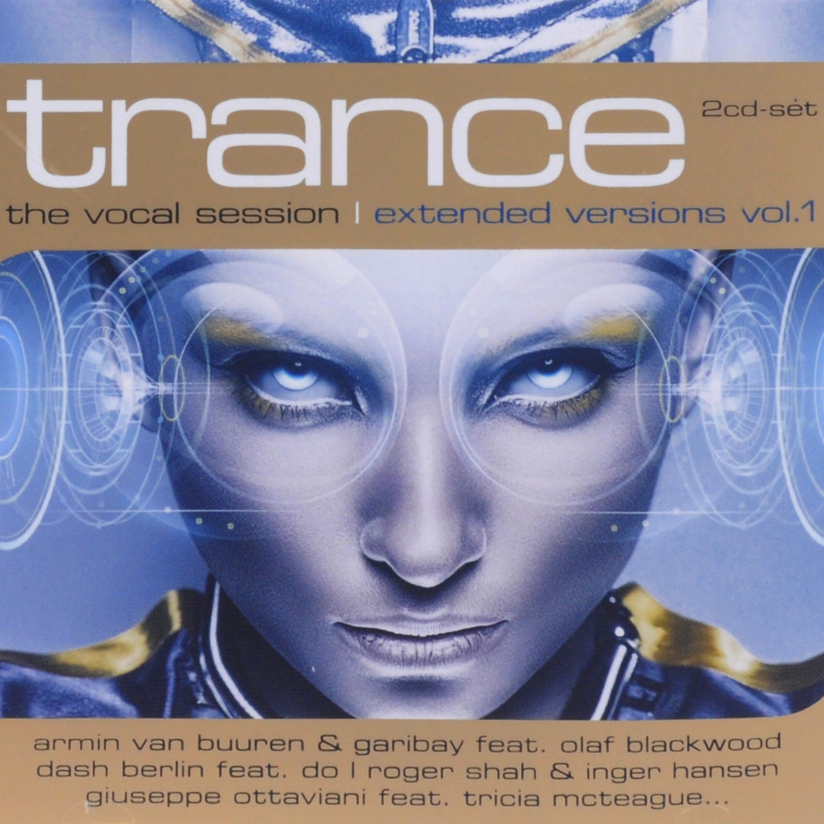 Trance. The Vocal Session. Extended Versions. Volume 1 (2 CD)