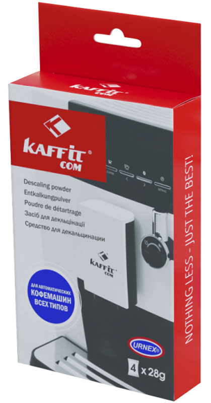 Kaffit.com KFT-01 средство для декальцинации, 4 шт kaffit com kft 01 средство для декальцинации 4 шт