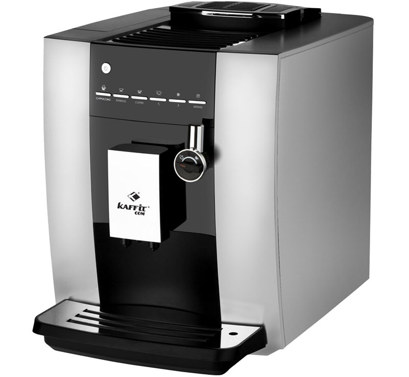 Kaffit.com KLM1604 Nizza Autocappuccino, Silver кофемашина