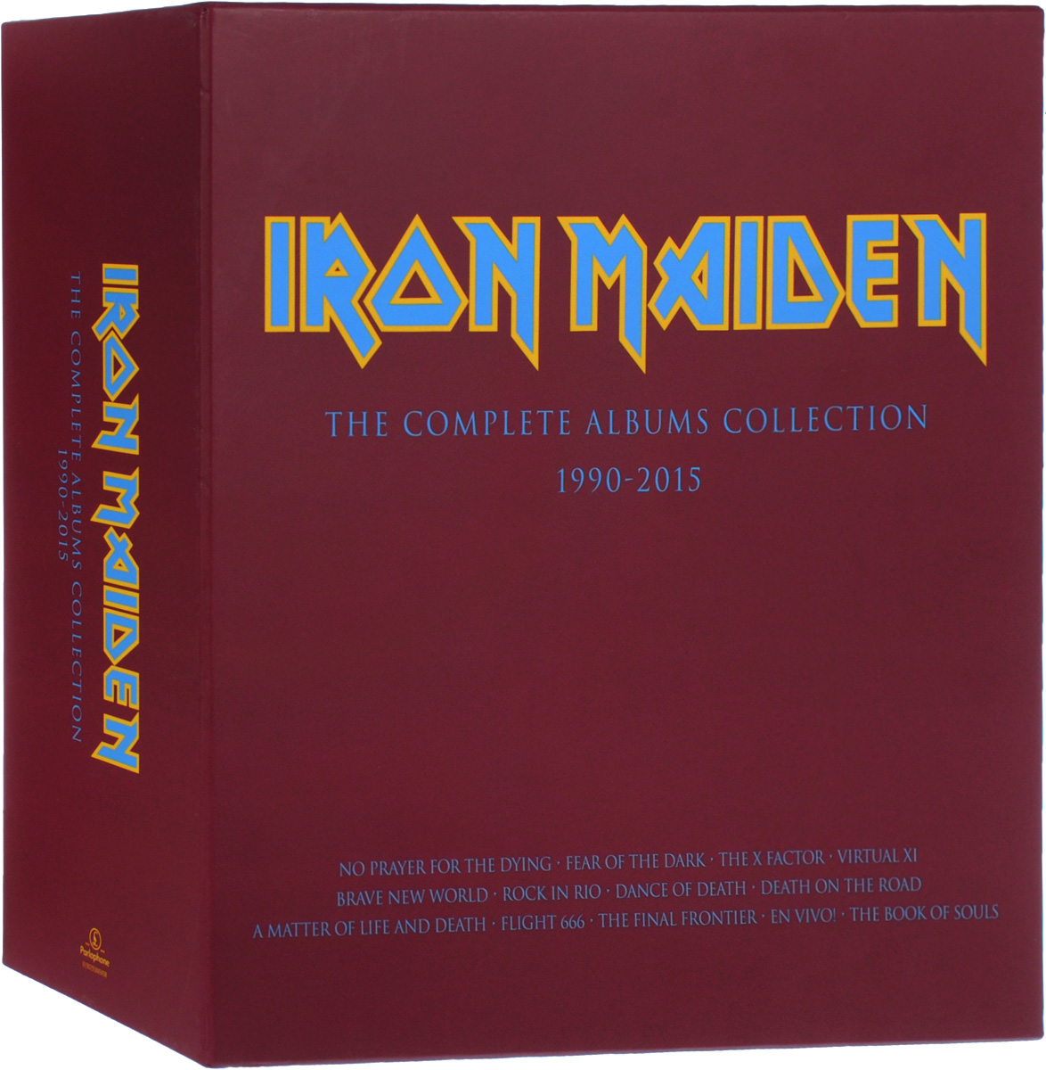 Iron Maiden Iron Maiden. The Complete Albums Collection 1990-2015 (3 LP) adiors side parting long colormix side braid synthetic wig