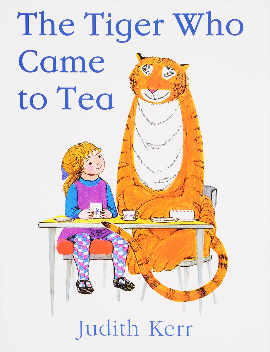 The Tiger Who Came to Tea свитшот print bar eye of the tiger