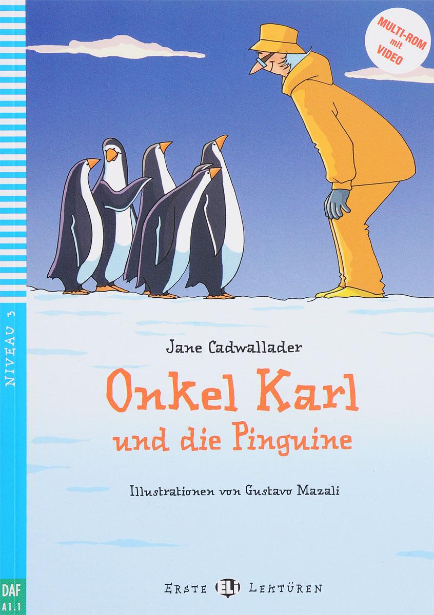 Onkel Karl Und Die Pinguine: Niveau 3 (+ CD-ROM) die entscheidung cd