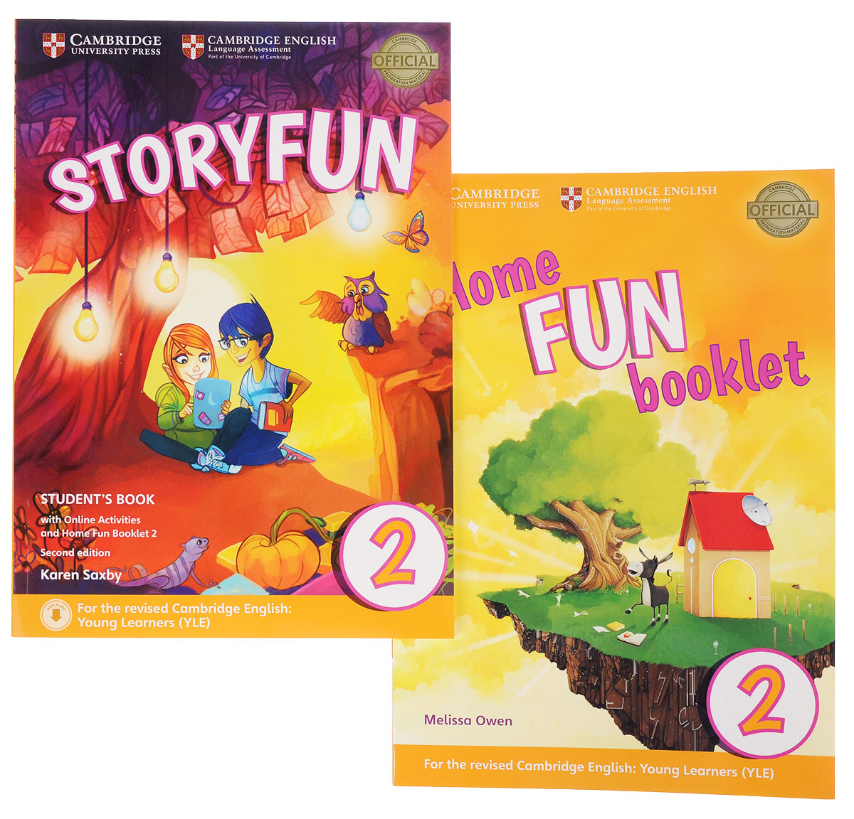 Storyfun for Starters Level 2 Student's Book. Home Fun Booklet 2 (комплект из 2 книг) starters 5 answer booklet