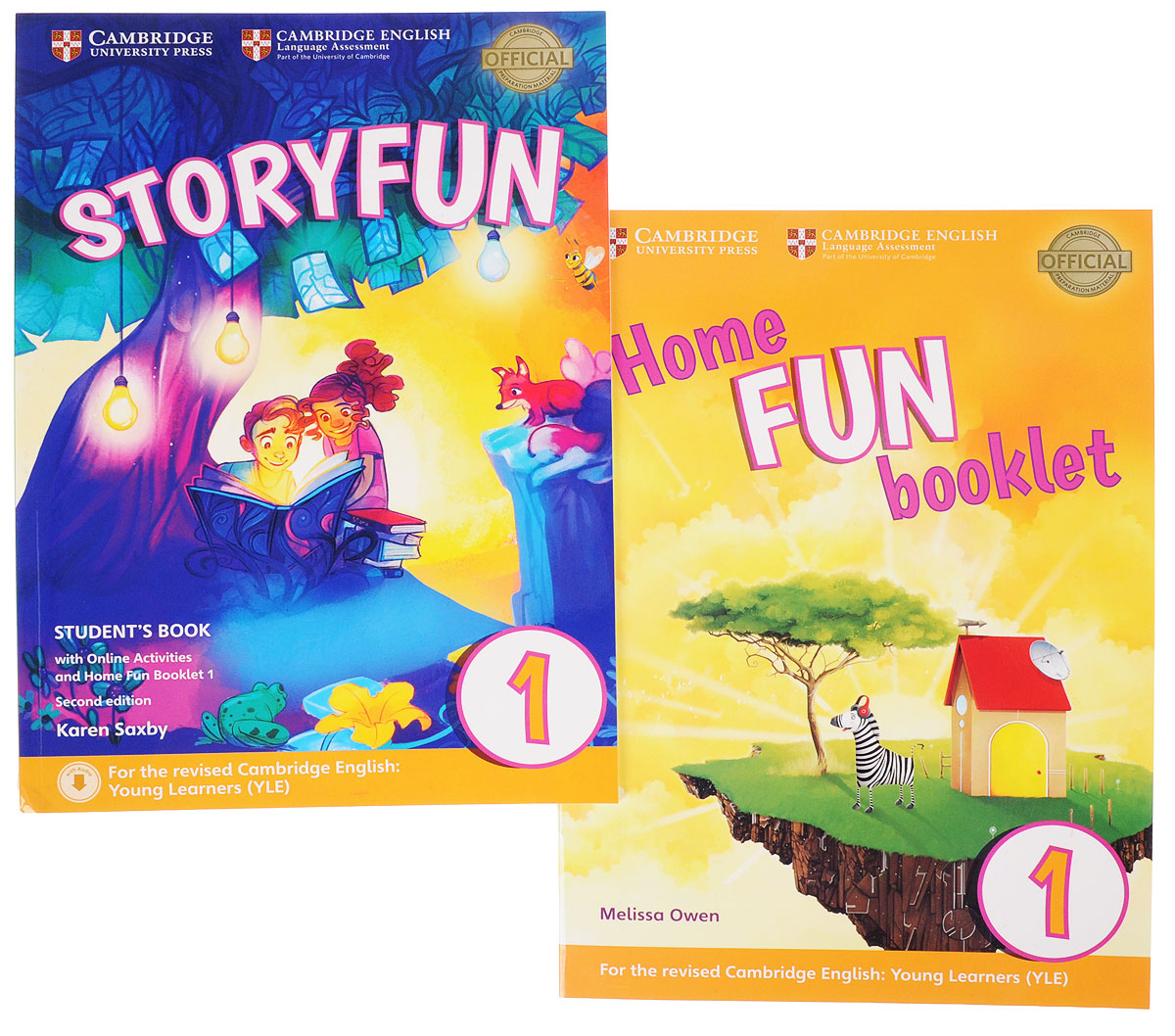 Storyfun for Starters Level 1 Student's Book. Home Fun Booklet 1 (комплект из 2 книг) storyfun for flyers teacher s book with audio cds 2