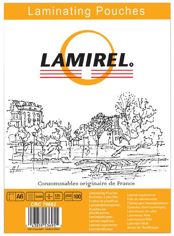 Lamirel А6 LA-78662 пленка для ламинирования, 125 мкм (100 шт)LA-78662Пакетная пленка Lamirel А6 LA-78662 предназначена для защиты документов от нежелательных внешних воздействий. Обеспечивает улучшенную защиту от грязи, пыли, влаги. Документ дополнительно получает жесткость на изгиб и защиту от механического воздействия и потертостей. Идеально подходит для интенсивной эксплуатации.Глянцевое покрытие улучшает внешний вид документа: краски становятся глубже, ярче и контрастнее.