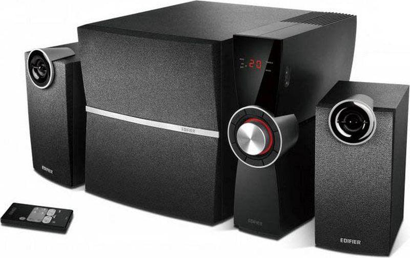 Edifier C2XD, Black акустическая системаC2XD BlackКолонки Edifier C2XD Black Сателиты: 9 Вт х 2Сабвуфер: 35 Вт