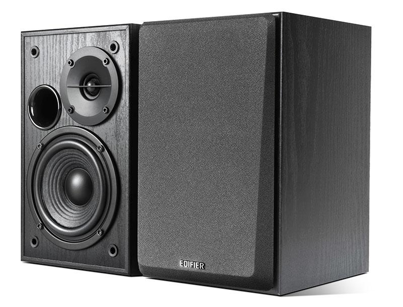 Edifier R1100, Black акустическая системаR1100 BlackКолонки Edifier R1100 Black 2 х 21 Вт