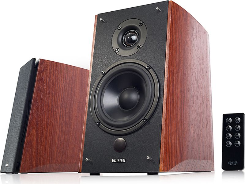 Edifier R1900TV акустическая системаR1900TVКолонки Edifier R1900TV 2 x 24 Вт + 2 x 36 Вт (Bass) RMS