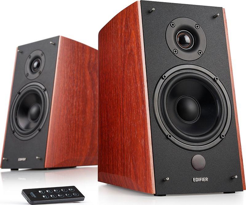 Edifier R2000DB акустическая системаR2000DBКолонки Edifier R2000DB 2 x 24 Вт + 2 x 36 Вт (Bass) RMS, Поддержка Bluetooth