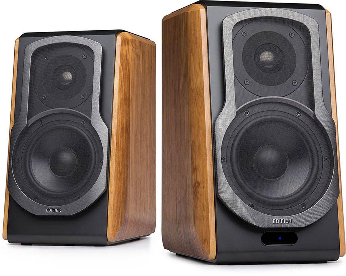 Edifier S1000DB, Brown акустическая системаS1000DB brownКолонки Edifier S1000DB brown2.0, 60Wx2, RMS