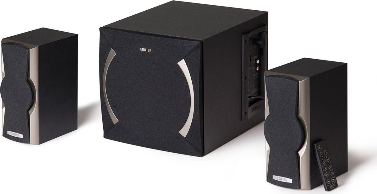Edifier XM6PF, Black акустическая системаXM6PF BlackКолонки Edifier XM6PF Black Сателлиты по 12 ВтСабвуфер 24 Вт