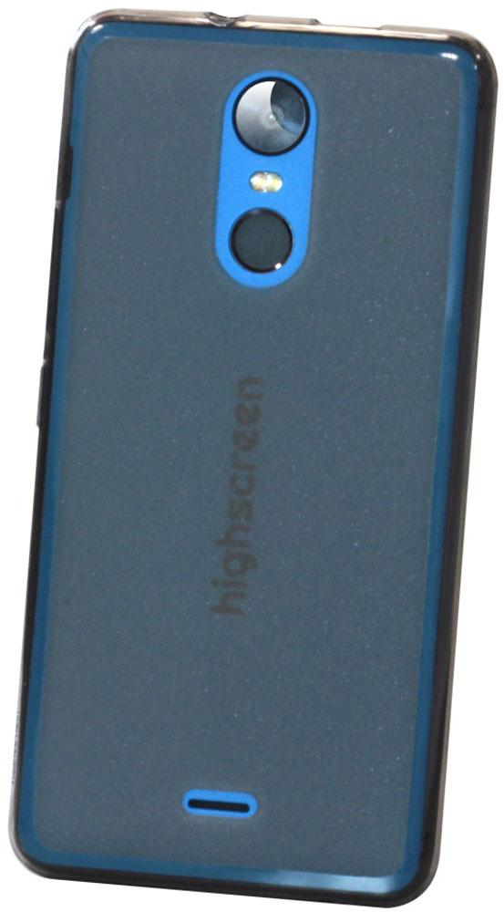 Highscreen чехол для Fest XL/XL Pro, Black (силикон) highscreen black box connect цена