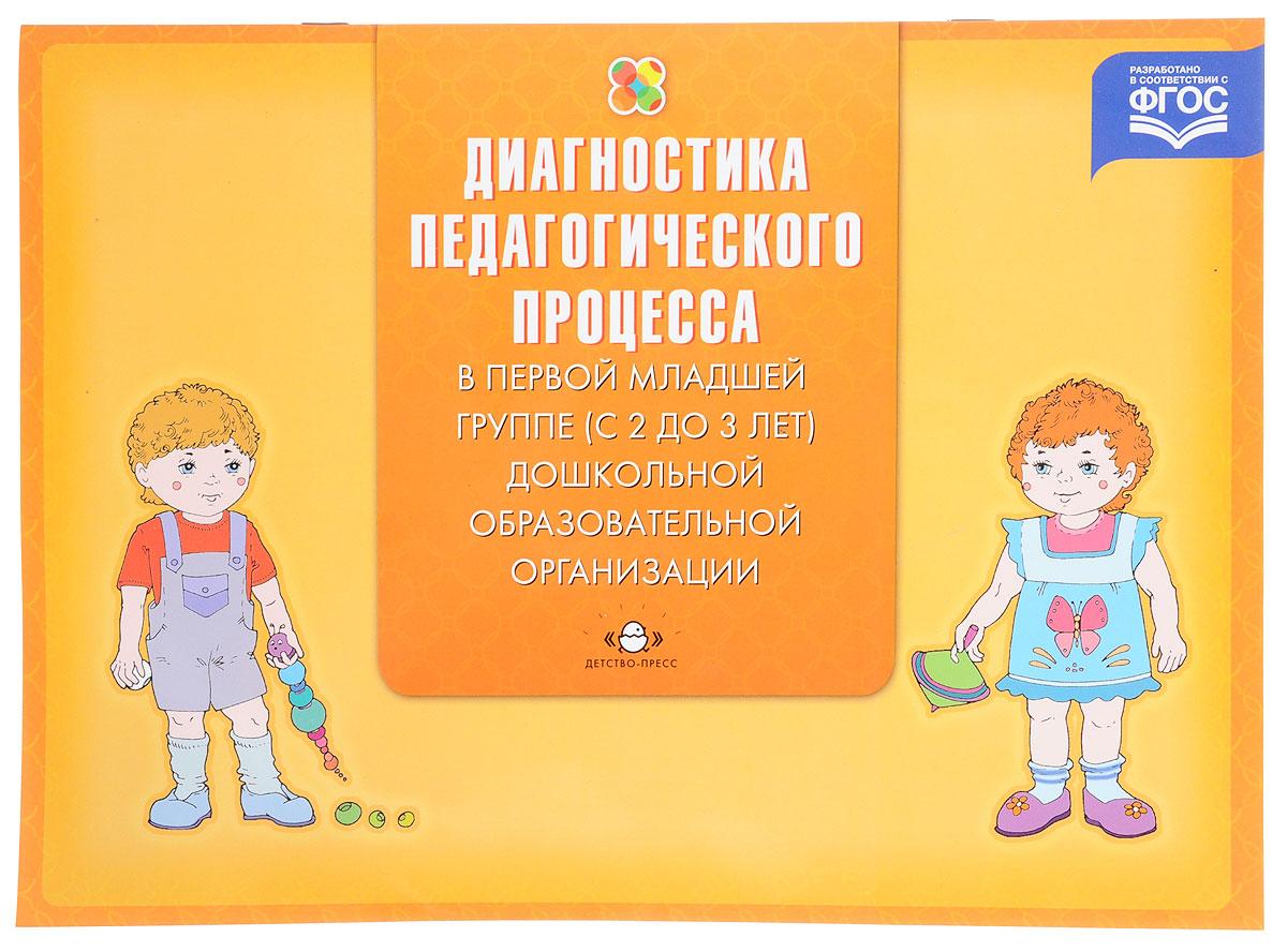 Диагностика педагогического процесса в первой младшей группе (с 2 до 3 лет) дошкольной образовательной ситуации