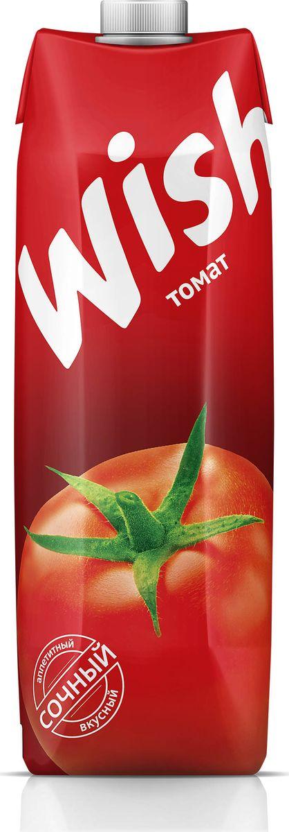 Wish сок томатный, 1 л00-00000459Томатный сок - укрепляющий и освежающий напиток. Содержащиеся в нём фитонциды подавляют процессы брожения в кишечнике, калий улучшает работу сердца, а органические кислоты регулируют обмен веществ. Томатный сок, содержащий витамин С, каротин, витамины группы В, можно рекомендовать всем. Он полезен при заболеваниях сердечно-сосудистой системы, запорах. Из-за невысокой калорийности его можно пить людям с избыточной массой тела. Два стакана томатного сока восполняют суточную потребность в витаминах С и А. Томатный сок нужно пить за 20–30 минут до еды, так как он повышает готовность желудка и кишечника к перевариванию пищи. Он улучшает обменные процессы, богат витаминами, солями и микроэлементами, защищает клетки от повреждений, стимулирует образование соединительной ткани, усиливает синтез гормонов, восстанавливает деятельность нервной системы. Томатный сок пьют в чистом виде, а также смешивая с яблочным, тыквенным и лимонным соками (2:4:2:1). Перед употреблением взбалтывать.