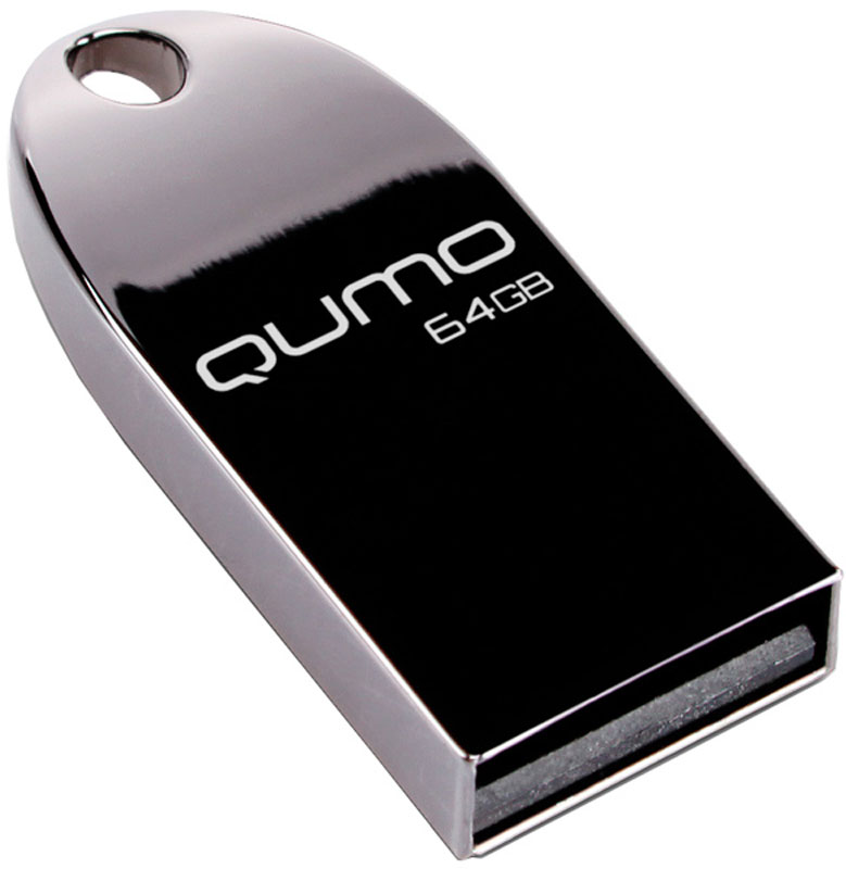 QUMO MetalDrive Dark 64GB USB-накопитель - Носители информации
