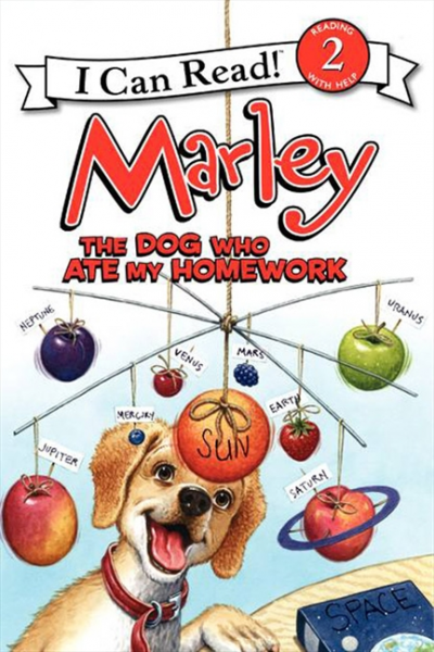 Marley: The Dog Who Ate My Homework  (Level 2) ткань портьерная garden выс 290см кремовый