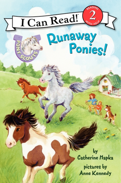 Pony Scouts: Runaway Ponies! (Level 2) rollason j barack obama the story of one man s journey to the white house level 2 сd